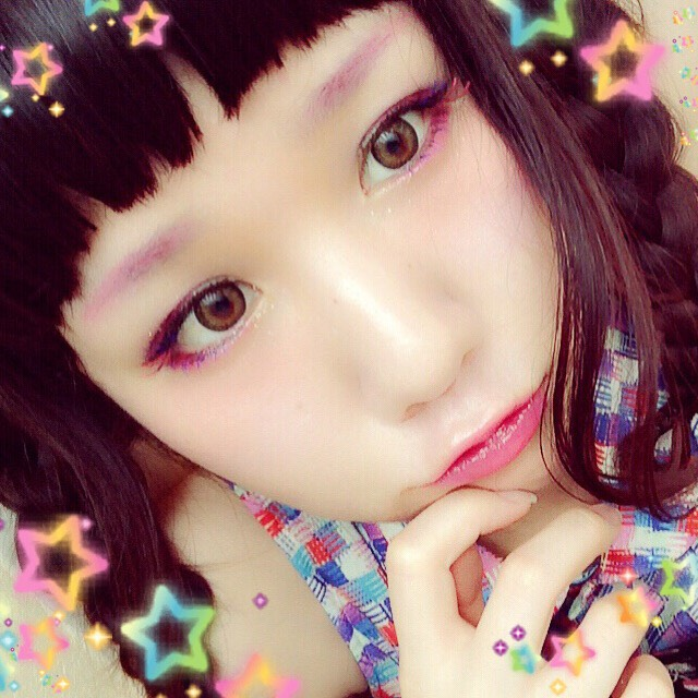 ハロウィン魔法少女メイクのAfter画像