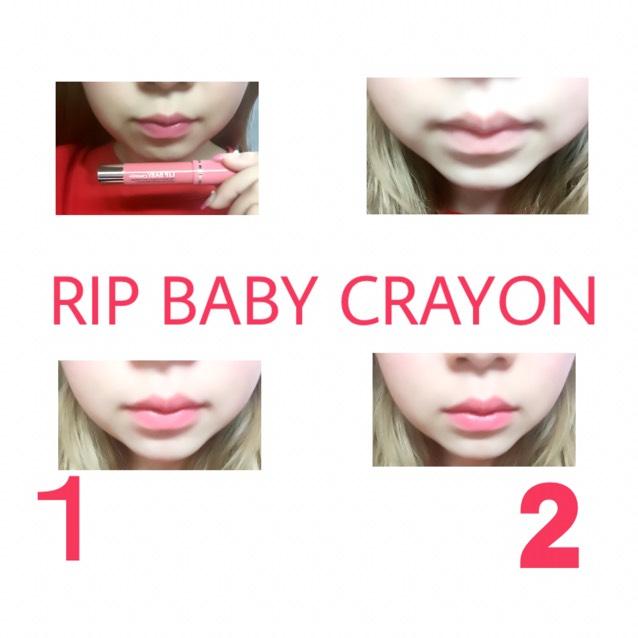 RIP BABY CRAYON