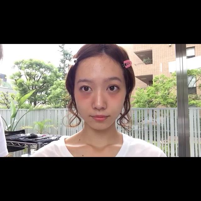 今っぽい眉毛の描き方♡のBefore画像
