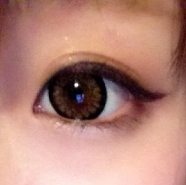 久々あげ目の丸目してみた