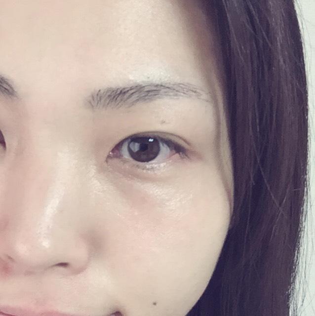 (自眉が薄いorきちんと眉好き向け)ナチュ眉の作り方のBefore画像
