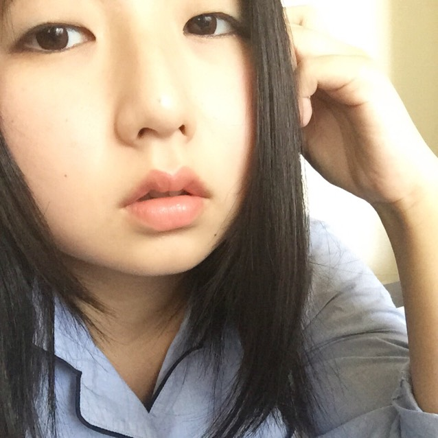 うっすらブルーメイク\(^o^)/