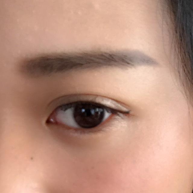 平行眉のAfter画像