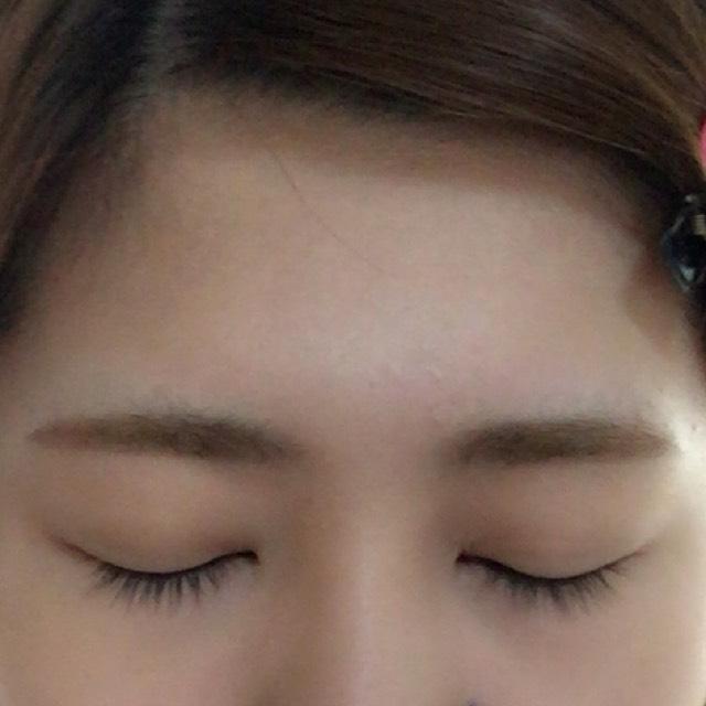 ♡平行太眉の作り方♡のAfter画像