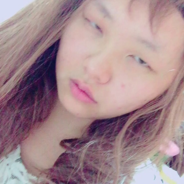 混血系彩妝のBefore画像