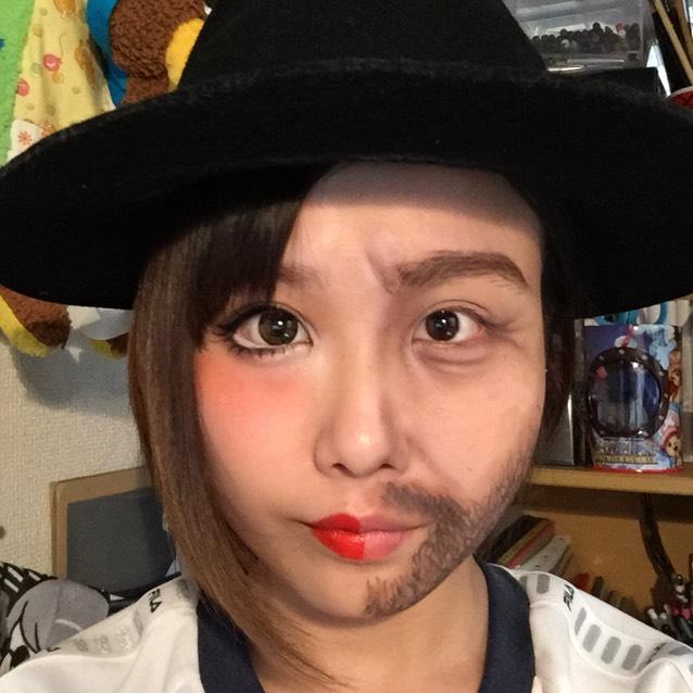 ハロウィン個性派メイク メイキングのAfter画像