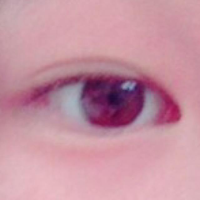 裸眼のすっぴん風メイクのBefore画像