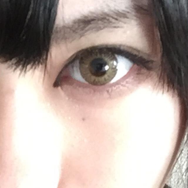 目、えぐれちゃったメイクのBefore画像