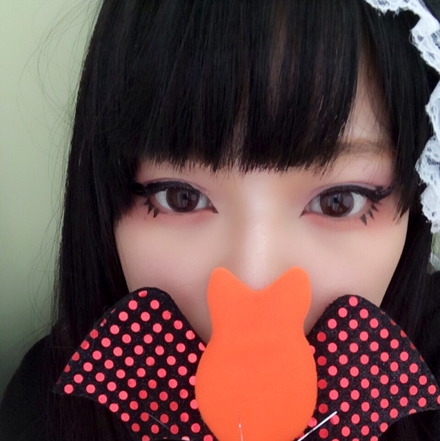 ハロウィンメイク 魔女のAfter画像