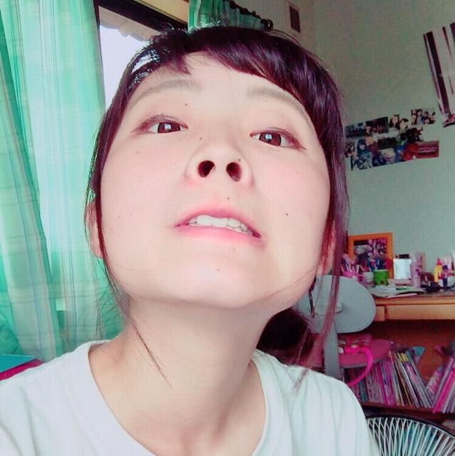 カラコン不要!!簡単ハロウィンメイク★のBefore画像