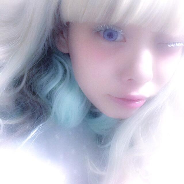 白い少女のAfter画像