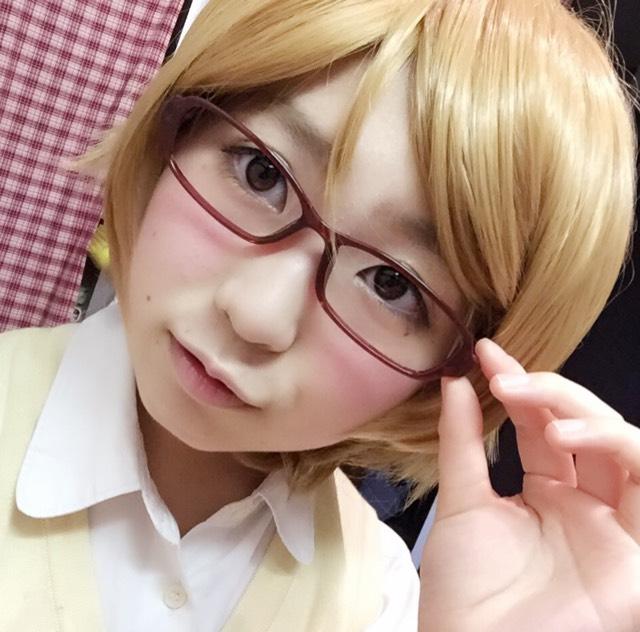 ラブライブ 小泉花陽風メイク