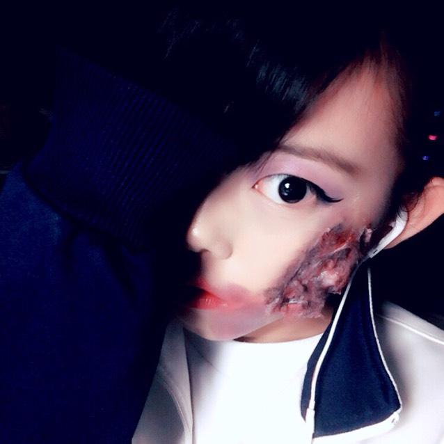 ハロウィンメイク/初投稿♪2015/9/30
