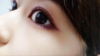 秋ボルドーメイクのAfter画像