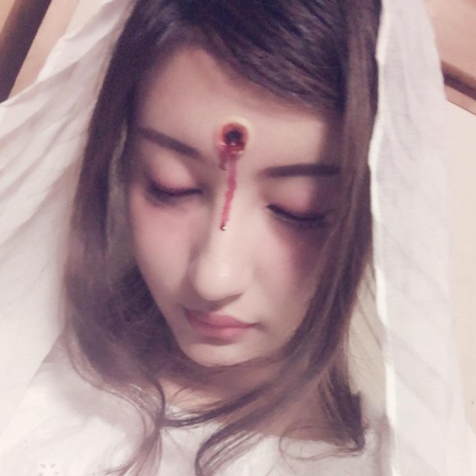 悲劇の花嫁メイクのAfter画像
