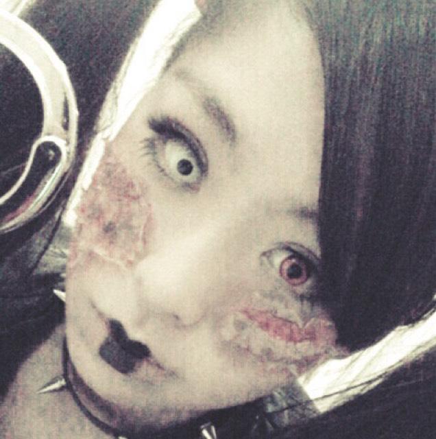 チャッキーの妹→片目つぶしのAfter画像