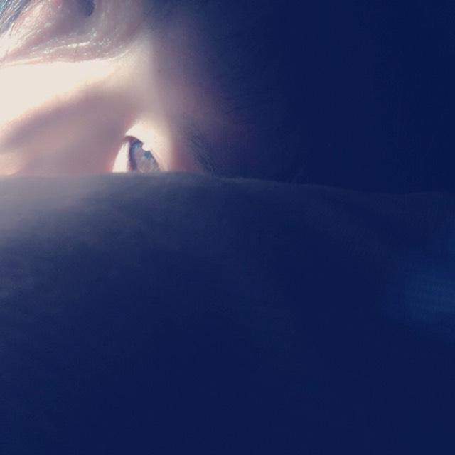 寝起きメイクのBefore画像