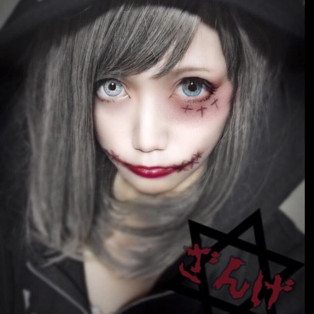 ハロウィン グロメイク