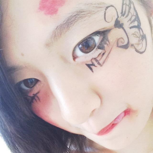 ハロウィンメイク♡もうひとつ!のAfter画像