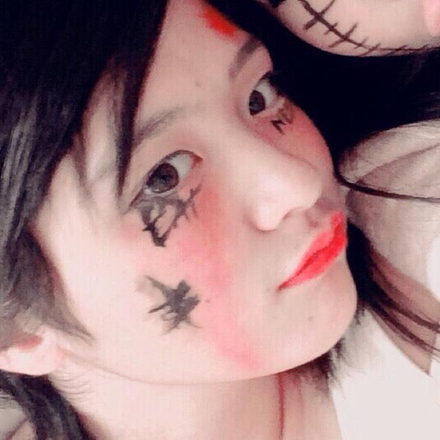 ハロウィンメイク♡魔女かなーあwのAfter画像