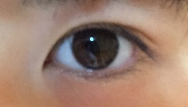囲い目メイクのBefore画像