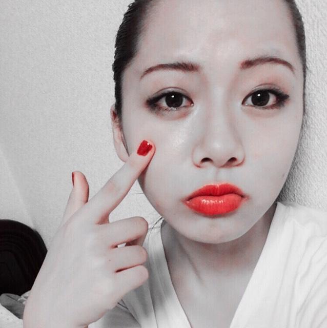 E-girls shizukaさん風メイク