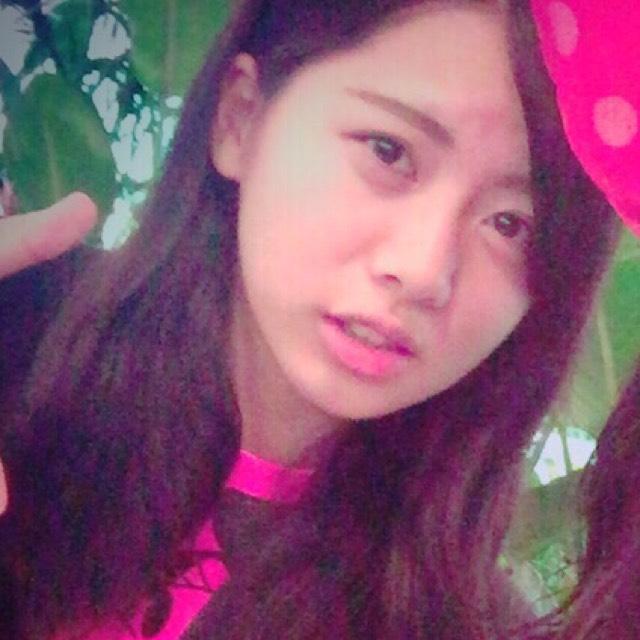 E-girls shizukaさん風メイクのBefore画像
