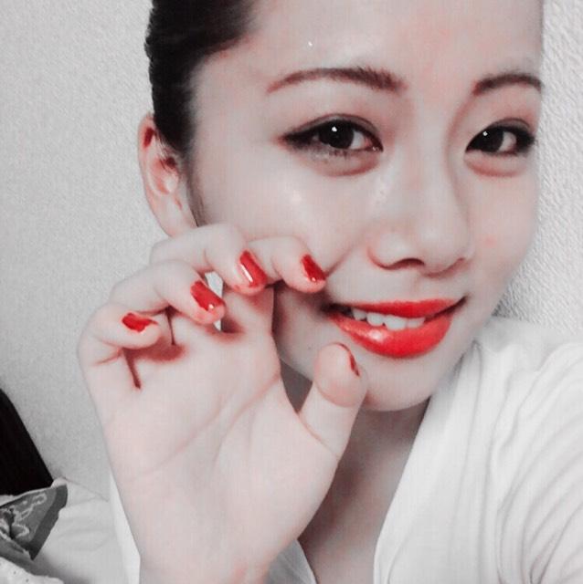 E-girls shizukaさん風メイクのAfter画像