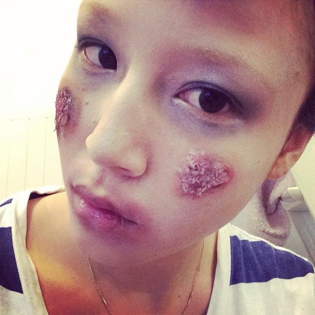 ハロウィン♡ゾンビサンタのBefore画像