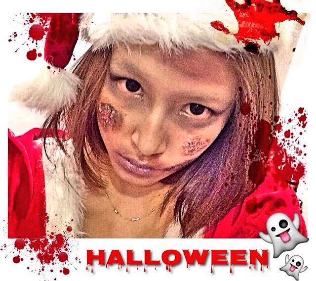 ハロウィン♡ゾンビサンタのAfter画像