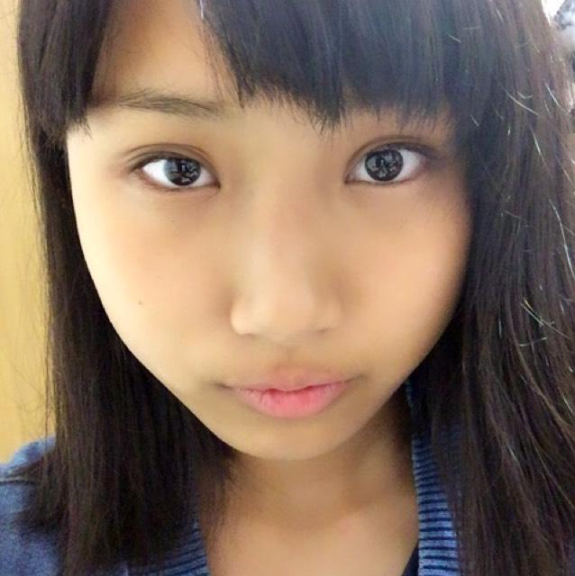 NMB48 矢倉楓子ちゃん(ふぅちゃん)風メイクのBefore画像