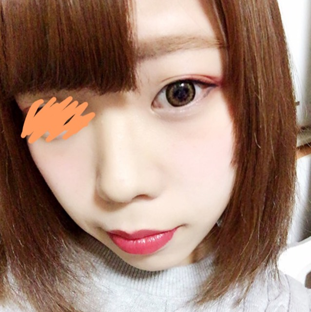 3色アイシャドウの濃いめメイク♡/