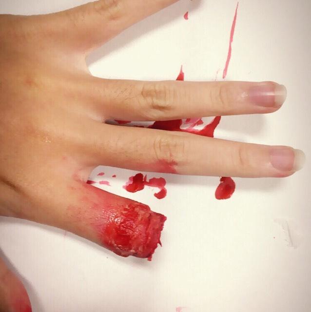 指切断メイク