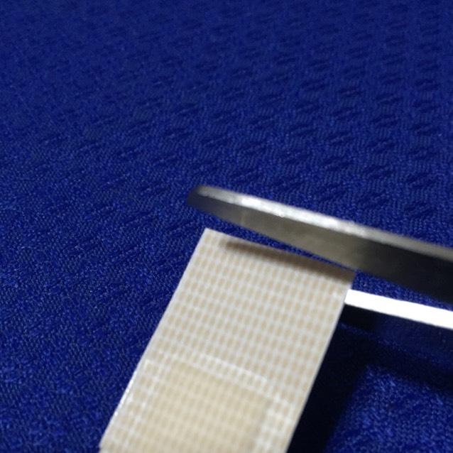 絆創膏が上手く切れなくて 二重を広げる前にこの作業が難しい時もあります。
