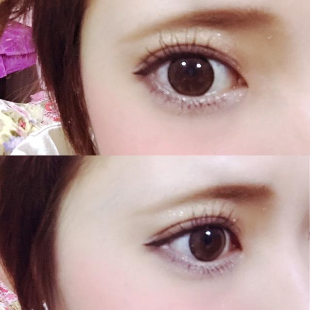 因為很多網友想學這款彩妝,所以這次要跟大家介紹這款「天生睫毛彩妝」♡