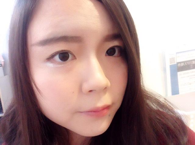 ハーフ顔風メイクのAfter画像