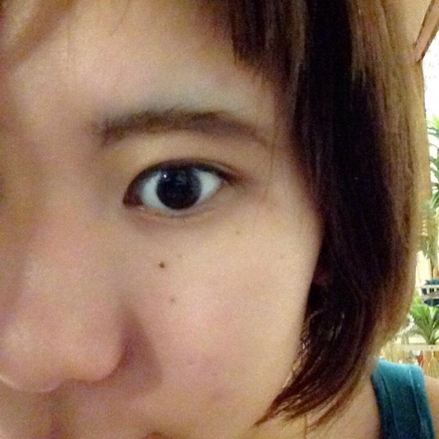 おん眉さんの太タレ眉メイクのAfter画像