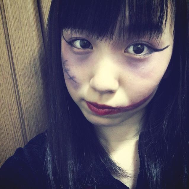 Halloween*アザメイク