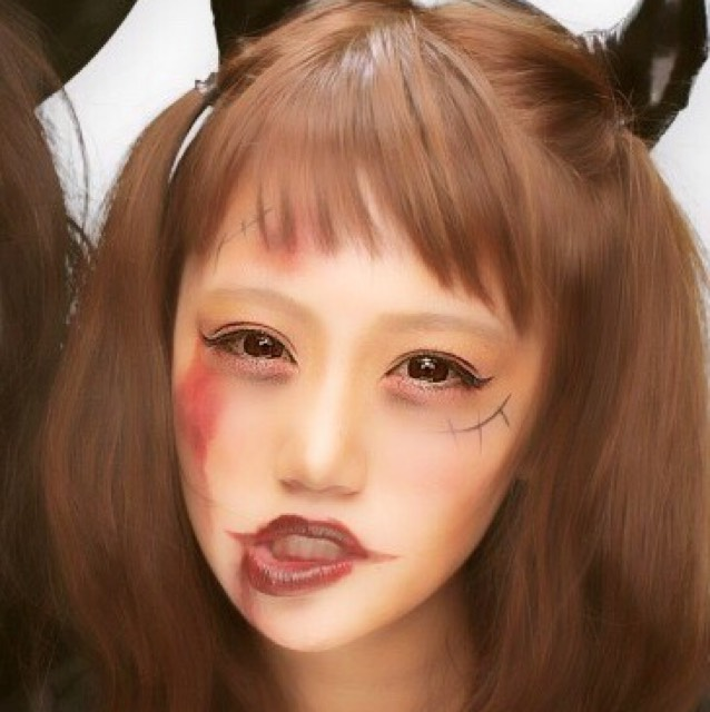 HalloweenMAKEはコレでした♡(プリ)
