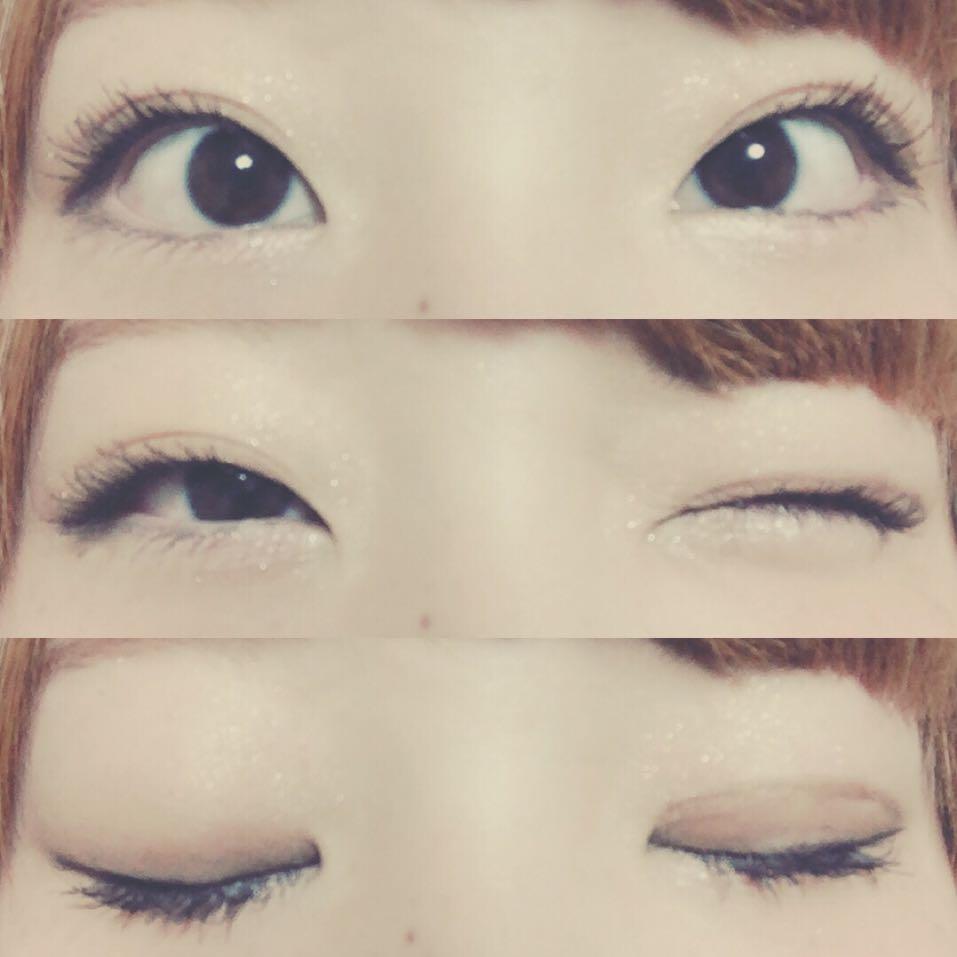 ベースメイク眉毛ハイライトはいつも通りですo(^o^)o今回はアイメイクチークリップですo(^o^)o