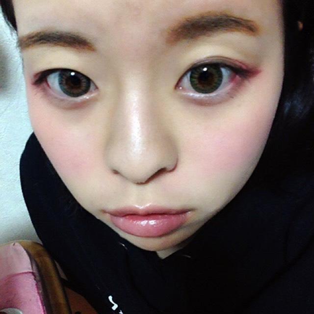 ハーフ風ドーリーメイク♡のAfter画像