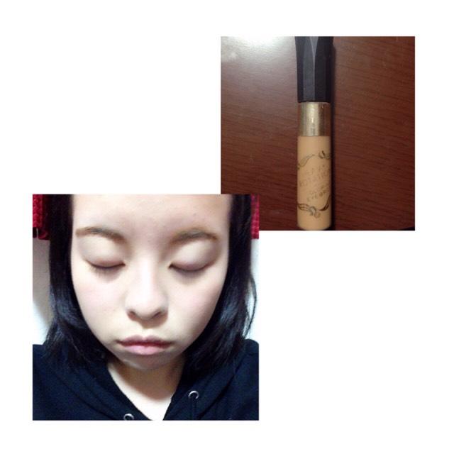 眉マスカラを塗ります。