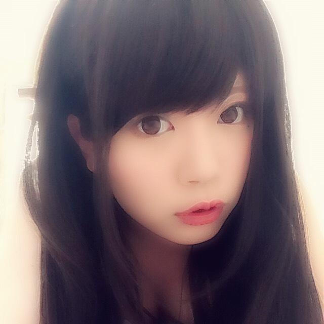 黒髪wigでナチュラルメイク〜ᕕ( ᐛ )ᕗ