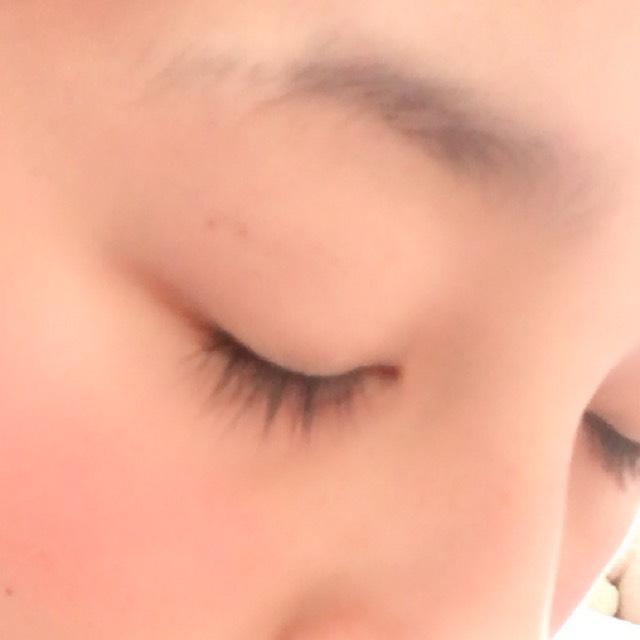 太眉のBefore画像