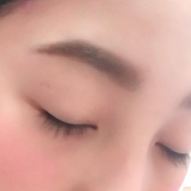 太眉のAfter画像