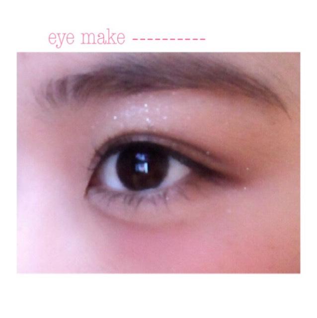 裸眼eye make