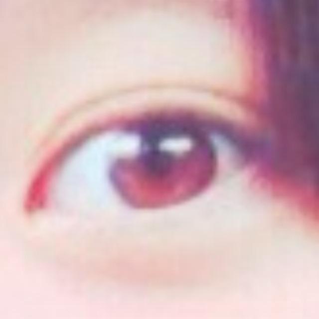 裸眼❅キラキラなお目目❅のBefore画像