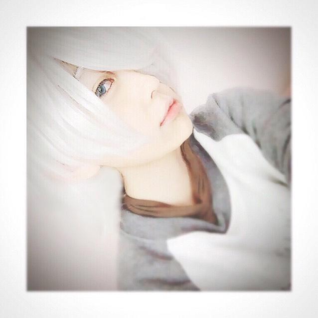 真っ白メイク(?)