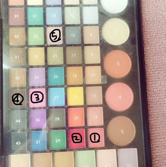 この5色を使います。
