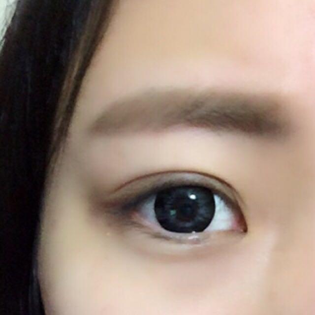 そして、最後に眉マスカラをして完成です✩︎⡱